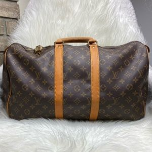 Keepall 45 LOUIS VUITTON AUTHENTIC Large Bag